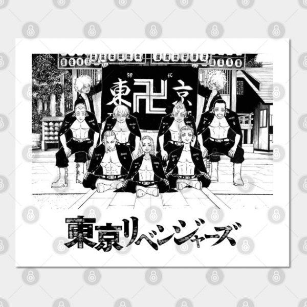 Tokyo Revengers Gang. light with logo