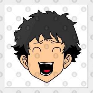 Older Takemichi Hanagaki Laughing Face Tokyo Manji Gang Tokyo Revengers