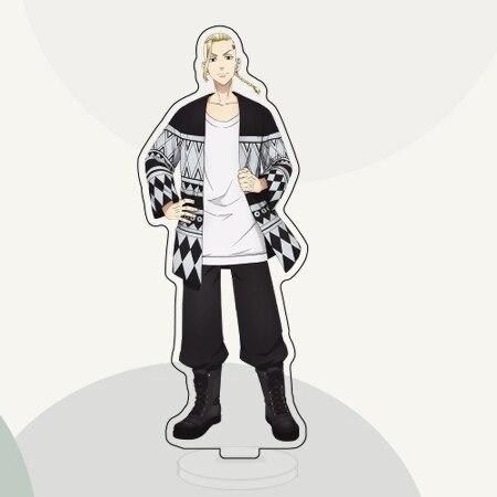 15cm Anime Tokyo Revengers Ryuguji Ken Hanagaki Takemichi Acrylic Figure Stand Model Plate Desktop Decor Toy 4.jpg 640x640 4 - Tokyo Revengers Merch