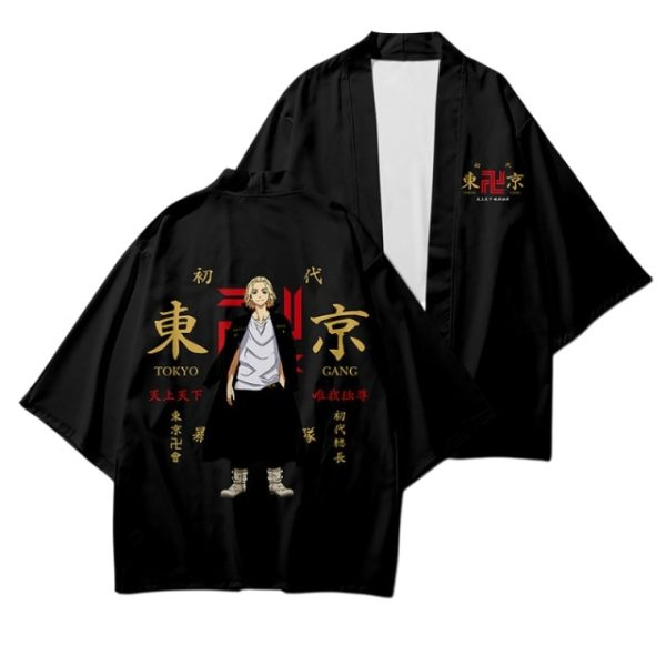 Anime Tokyo Revengers Cosplay Costumes Cloak Hanagaki Takemichi Ken Japanese Ryuguji Haori Kimono Cardigan Draken Mikey 1.jpg 640x640 1 - Tokyo Revengers Merch