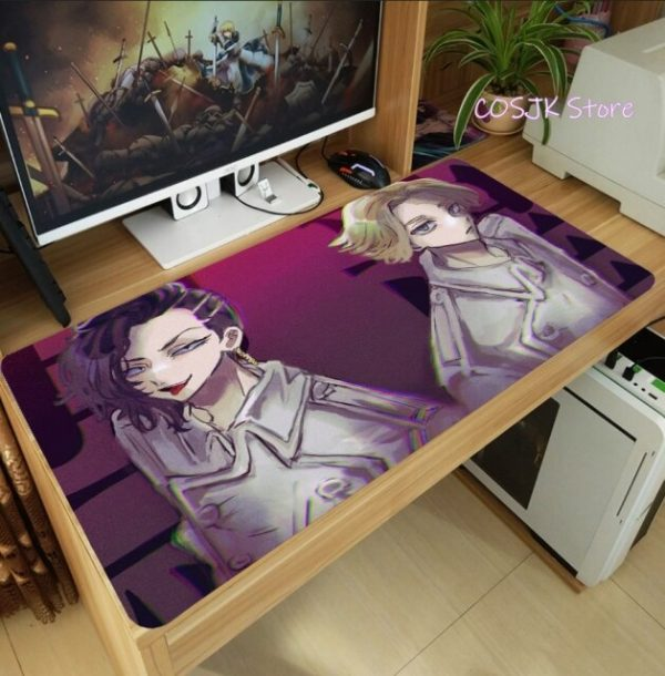 Anime Tokyo Revengers Hinata Tachibana Large Mouse Pad Computer Laptop PC Gaming Desktop Keyboard Mice Mat 6.jpg 640x640 6 - Tokyo Revengers Merch