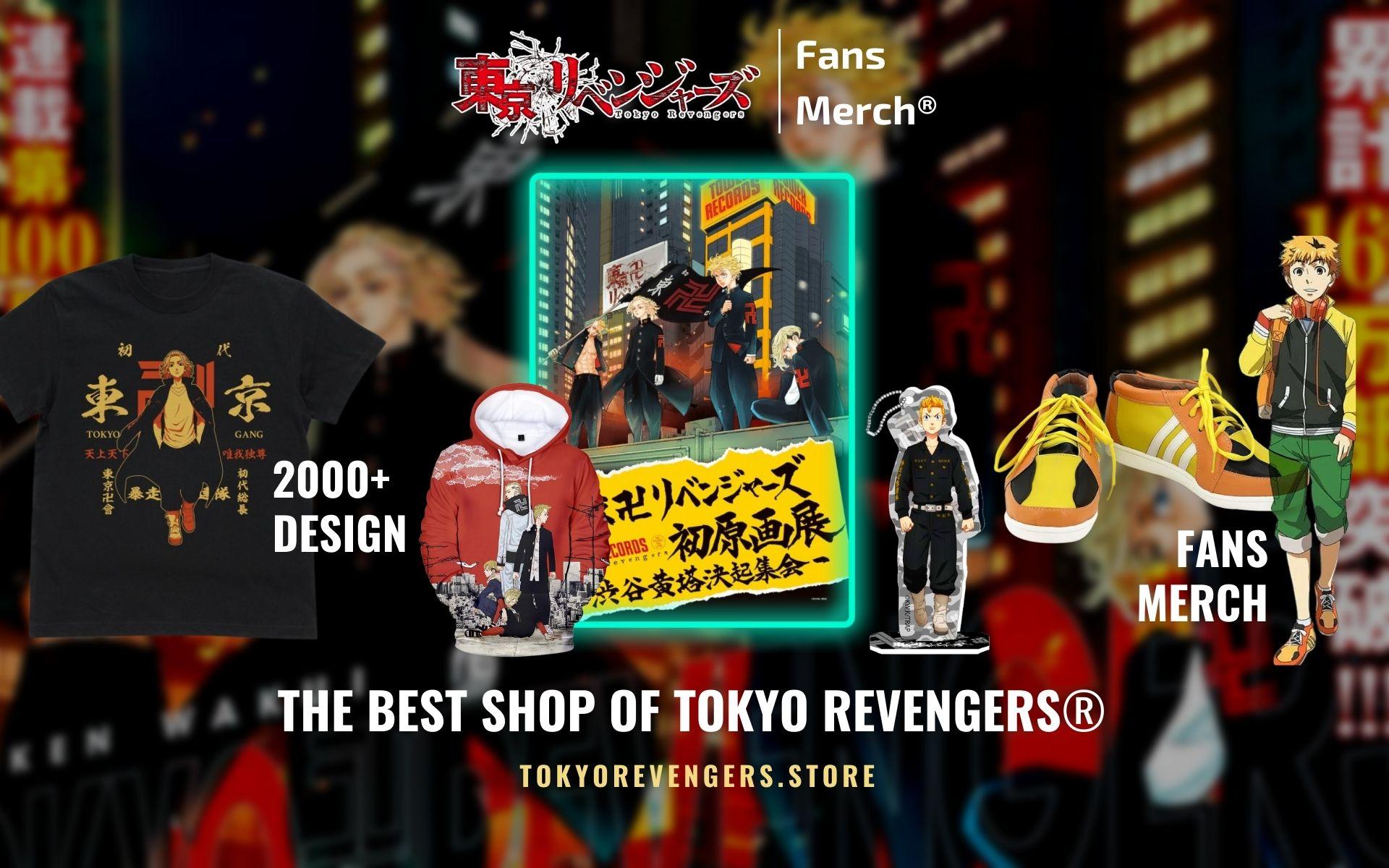 Tokyo Revengers Merch Web Banner - Tokyo Revengers Merch